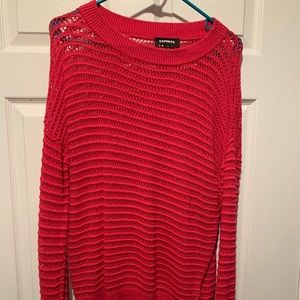 Express Relaxed Sweater - Pink